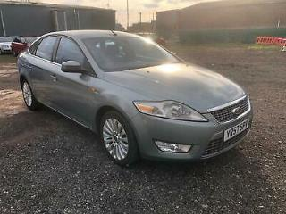 Ford Mondeo 2.0TDCi Automatic Titanium X SH mot 1OWNER keyless heated seats VGC