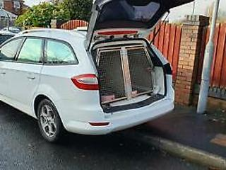 Ford Mondeo 2.2TDCi 175 2009 09 1 OWNER DOG VAN UNIT CARRIER CAGES EX POLICE