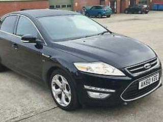 FORD MONDEO TDCi 140 Titanium Black Manual Diesel, 2010