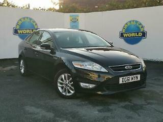 FORD MONDEO TDCi 163 ZETEC 2011 Diesel Manual in Black *REVERSE PARKING SENSORS
