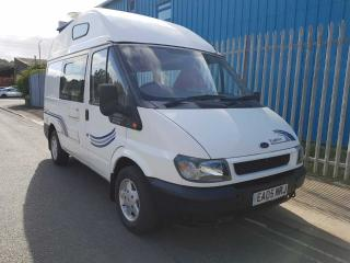 FORD TRANSIT DIESEL 2 BERTH HI TOP CAMPER 2005 MODEL