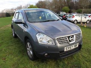 FROM £30 PER WEEK 2008 NISSAN QASHQAI 2.0DCi 4WD TEKNA AUTOMATIC GREY