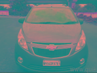 Grey 2012 Chevrolet Beat LS Diesel 51000 kms driven in Pimple Gurav