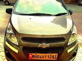 Grey 2017 Chevrolet Beat LS Petrol 89,700 kms driven in Kanakia Road