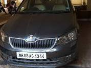 Grey 2017 Skoda Rapid new Ambition TDI AT 45,000 kms driven in Chiplun