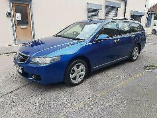 Honda Accord 2.2 i CTDi Sat Nav HFT Exec Estate car 6 speed manual 2007
