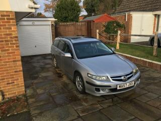 Honda Accord Tourer CTDI 2007 Silver