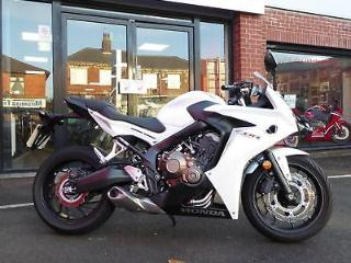 Honda CBR650F with only 2469 miles from new