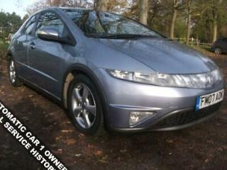 HONDA CIVIC 1.8 I DTEC ES I SHIFT 5D 139 BHP FULL SERVICE HISTORY AUTOMATIC