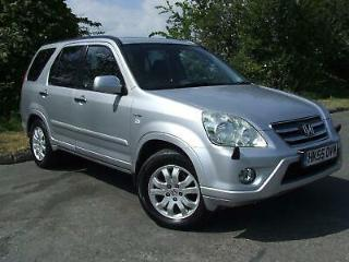 HONDA CR V 2.0 VTEC EXECUTIVE AUTOMATIC ONLY 85K MILES Silver Auto Petrol, 2005