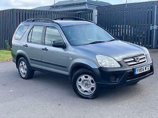 HONDA CR V i CDTi SE Silver Manual Diesel 2005 For sale 4X4 Cheap to run