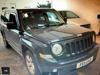 HUGE SPEC 11 PLATE JEEP PATRIOT 2.2 CRD LIMITED 4WD WITH NAVIGATION