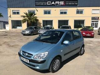 HYUNDAI GETZ 1.5 CRDI DIESEL SPANISH LHD IN SPAIN 83K NEW ITV DRIVES SUPERB 2005