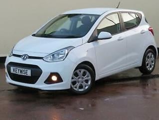 HYUNDAI i10 1.0 SE 5DR 2014 14 WITH 20,936 MILES & 5 SERVICE STAMPS