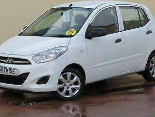 HYUNDAI i10 1.2 CLASSIC 2012 12 5DR WITH 30,169 MILES & £20 ROAD TAX