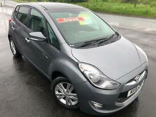 HYUNDAI IX20 1.6 CRDi DIESEL BLUEDRIVE STYLE £29 WEEK £30 TAX BLUETOOTH MP3 2015