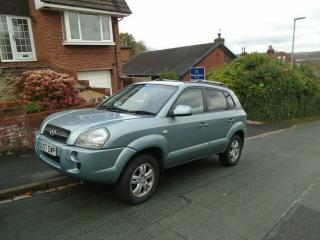 HYUNDAI TUSCON LTD ED. 1991cc 4x4 2007 ONLY 50,000 MILES ONE OWNER FROM NEW