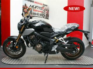 IN STOCK NOW! NEW 2019 Honda CB650R ABS. Black. £6,995 On The Road