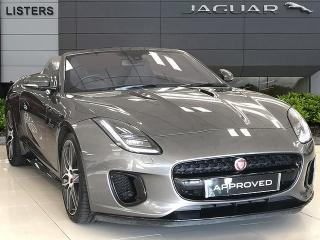 Jaguar F TYPE 3.0 V6 Supercharged 380PS R DYNAMIC Convertible, 5894 miles, £41990