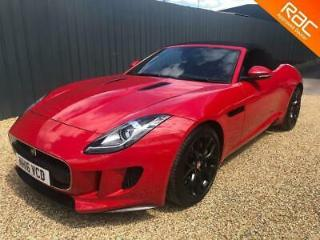 JAGUAR F TYPE V6 Quickshift Auto Start Stop Entry Red Semi Auto Petrol, 2016