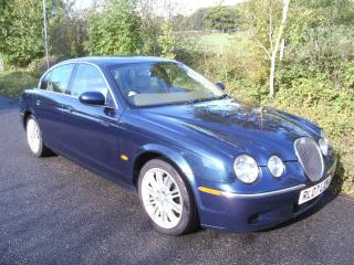 JAGUAR S TYPE 2.7 SE DIESEL AUTOMATIC SERVICE HISTORY SAT NAV FULL LEATHER