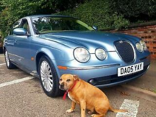 JAGUAR S TYPE V6 Auto Entry Blue Auto Petrol, 2005