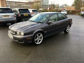 JAGUAR X TYPE d 146 Auto Sport Premium with black crossed stitched muliner lth,s