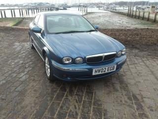 JAGUAR X TYPE V6 SE 2002 02