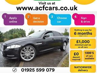Jaguar XJ V6 PORTFOLIO LWB CAR FINANCE FR £79 PW Auto Saloon 2012, 25000 miles, £17990