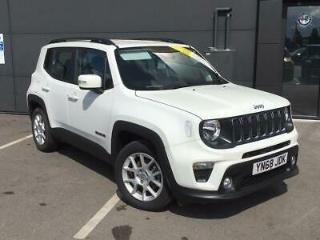 JEEP 1.0 T3 GSE LONGITUDE 5DR ALPINE WHITE