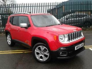 JEEP 1.4 MULTIAIR LIMITED 5DR RED
