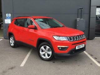 JEEP 1.6 MULTIJET 120PS LONGITUDE 5DR COLORADO RED