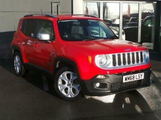 JEEP 1.6 MULTIJET LIMITED 5DR RED