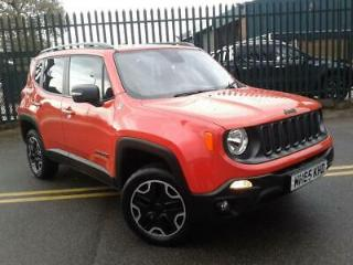 JEEP 2.0 MULTIJET TRAILHAWK 5DR AUTO ORANGE