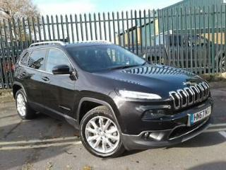 JEEP 2.2 MULTIJET 200PS LIMITED 5DR AUTO BLACK