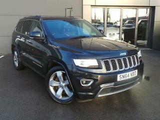 JEEP 3.0 CRD OVERLAND 5DR AUTO BLACK