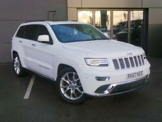 JEEP 3.0 CRD SUMMIT 5DR AUTO START STOP WHITE