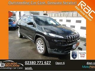 Jeep Cherokee 2.0 CRD Auto 2014 Limited, RAC Approved