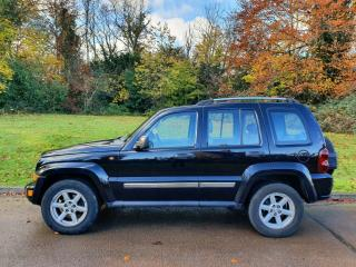 Jeep Cherokee CRD Limited. Auto & Leather. 4x4. Bargain