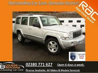 Jeep Commander 3.0 CRD 4X4 Auto Limited