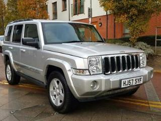 Jeep Commander 3.0CRD 215bhp 4X4 Auto Limited