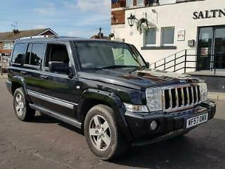 Jeep Commander 3.0CRD 215bhp 4X4 Auto Limited, SPARES OR REPAIR, MOT UNTIL JAN