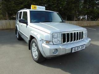 Jeep Commander 7 Seater 3.0CRD 215bhp 10 Stamps 4X4 Auto Limited