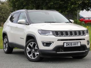Jeep Compass 1.4 T MultiAirII Limited s/s 5dr SUV 2019, 7210 miles, £19995