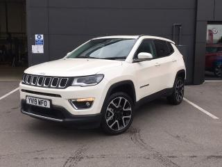 Jeep Compass 2.0 MULTIJET 140PS LIMITED 5DR ESTATE, 7239 miles, £23495