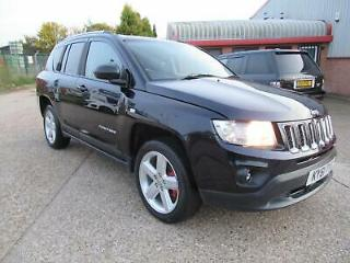 Jeep Compass 2.2CRD Limited 11/61 96K FSH MASSIVE SPEC IMPRESSIVE CAR