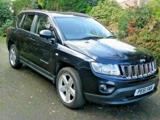 jeep compass 4WD 2.2CRD limited 5dr leather