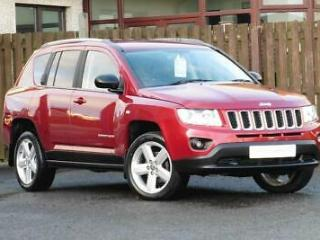 Jeep Compass Crd Limited Estate 2.1 Manual Diesel