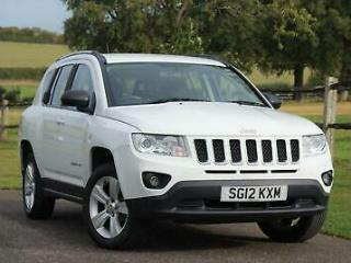 JEEP COMPASS Sport 2012 Petrol Manual in White