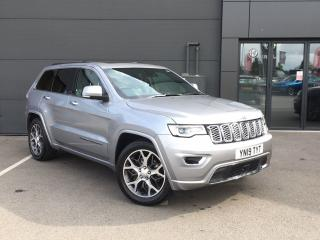 Jeep Grand Cherokee 3.0 CRD OVERLAND 5DR SUV, 8645 miles, £39995